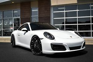 20 Victor Wurttemburg Forged Black Wheels Porsche 911 Narrow Body 997 991