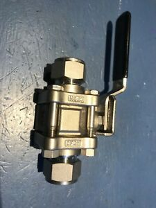 Swagelok Ss 63ts12 3 4 Ball Valve New Never Used