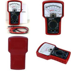Analog Multimeter With Battery Tester Ac Dc Volt Amp Ohm And Meter High Accuracy