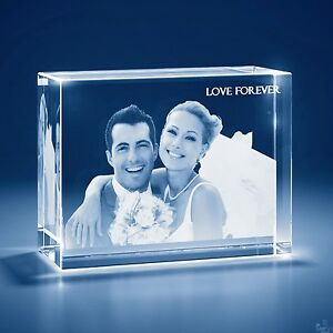 Christmas Laser Engraved 3d Crystal Personalized Gift 2x large Tower Shape