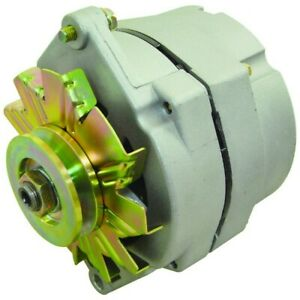 New Alternator Replace Delco 10si 1 Wire Install 63 Amp W V Belt Pulley