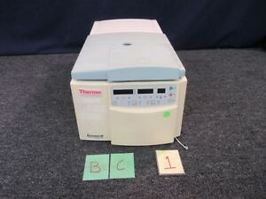 Thermo Micromax Rf Refrigerated Microcentrifuge Centrifuge Iec 24 Position Used