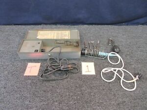 Weller Soldering Desoldering Kit W tcp k Military Electrical Tool Repair Used
