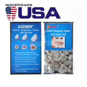 Usa Dental Materials Temporary Crown Replacement 22 23 24 Anterior Teeth
