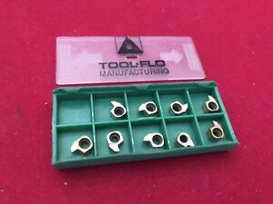 Tool Flo Bngr 062w Grooving Inserts 9 Pcs