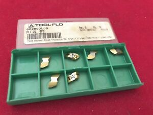 Tool Flo Flt 2l Gp3 Threading Inserts 6 Pcs