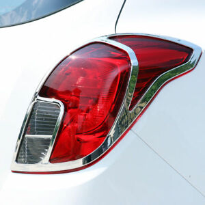Chrome Rear Tail Light Cover Trim For Buick Encore Opel Vauxhall Mokka 2013 2017