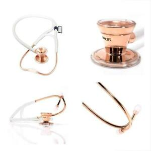 Classic Stethoscopes Cardiology Stainless Steel Dual Head Free parts for life