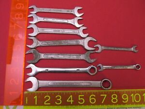 Lot Of 9 Wrenches Gedore Sk Wayne Others Most Made In Usa See All Pictures