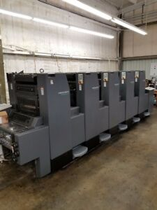 1997 Heidelberg Sm52 5 Printing Press Offset Sheetfed 5 Color Straight Machine