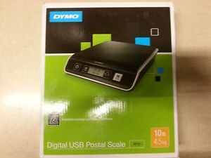 Dymo M10 Digital Usb Postal Scale 10lb Capacity 4 5kg