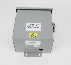 3m 75 0301 6576 7 Disconnect Breaker Sign Power Box Traffic Control