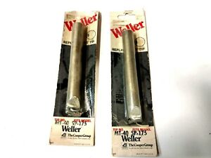 2 Weller Mt 40 Replacement Tip Fits Sp 175