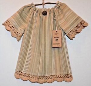 Vintage Country Nightgown Grungy Primitive Country Folk Art Doll Wall Decor