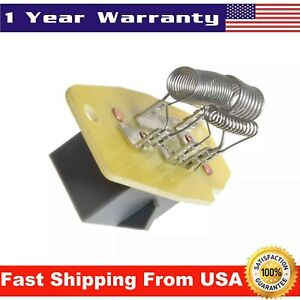 Blower Motor Resistor For Ford F 150 Bronco Ranger Ru 318 Yh1698 4c2z19a706ba