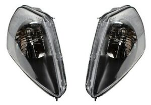 New Head Light For 2000 2002 Mitsubishi Eclipse Driver Passenger Side Set