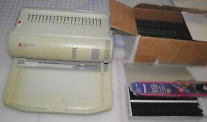 Rexel Combbind Cb450 Comb Binder And Electric Punch With Combs