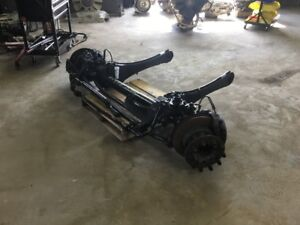 2007 Ford F450 F550 2wd Front Straight Axle Assembly