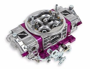 Holley Quick Fuel 4 Barrell 650cfm Performance Race Carburetor Double Pumper
