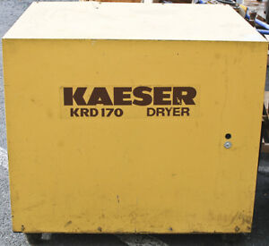 Kaeser Krd170 Refrigerated Compressed Air Dryer 1 Ph 60 Hz 200 Psi