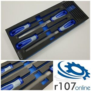 Blue Point 10pc File Set Tool Control Foam As Sold By Snap On