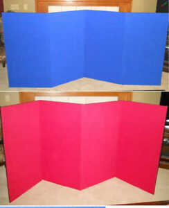 Skyline Classic 4 Panel Folding 47t X 96w Tradeshow Tabletop Display Portable