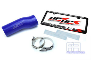 Hps Silicone Air Intake Hose Kit For Honda 16 18 Civic 17 18 Si 1 5l Turbo Blue