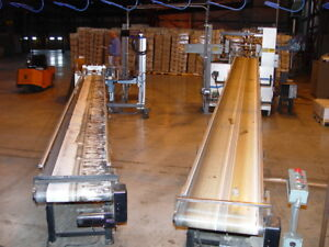Dorner Aluminum Extruded Frame 18 W X 20 L Flatbelt Power Conveyor