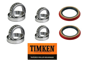 Ford Ranger 2wd Front Wheel Bearing Seal Set 1995 2011 Premium Timken Set