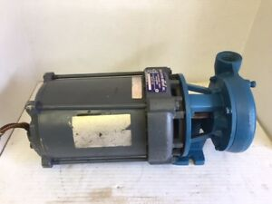 Price Pump Co Water Pump With General Electric 1hp Single Phase Motor 3450 Rpm