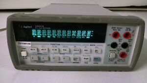 Hp Agilent 34401a Digital Multimeter 6 Digit Missing Handle stand