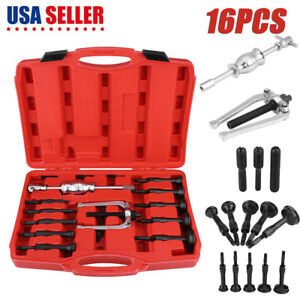 16pc Bearing Puller Blind Hole Slide Hammer Pilot Internal Extractor Removal