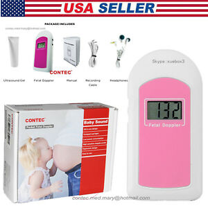 Fda Pocket Fetal Doppler prenatal Heart Monitor Baby Sound Baby Heart Beat gel