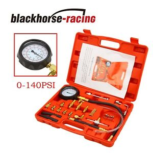 0 140psi Fuel Injection Pump Pressure Tester Pressure Injector Gauge Test Kit