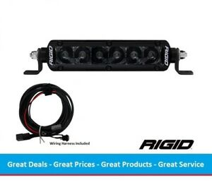 Rigid Industries Midnight Edition Sr series Pro 6 Inch Led Light Bar