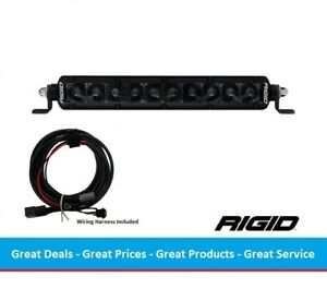 Rigid Industries Midnight Edition Sr series Pro 10 Inch Led Light Bar