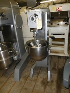 Mixer 20 Qt Univex S s Dough Hook beater Wire Whip