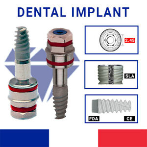 Spiral Dental Implants 4 2 System Alpha bio Zimmer New And Original Ce fda iso