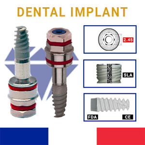 Spiral Dental Implants 3 3 System Alpha bio Zimmer New And Original Ce fda iso