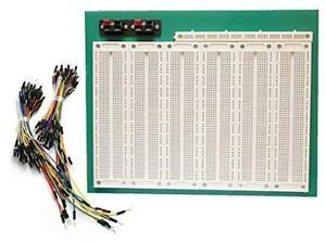 Tektrum Solderless Experiment Plug in Breadboard Kit With Jumper Wires For 4660