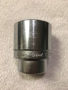 Blue Point By Snap On 3 4 Dr Chrome Socket 1 1 2 U482 Nice