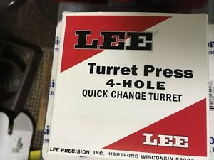 Lee Turret Press 4 Hole Quick Change Turret - UNUSED IN BOX