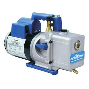 Robinair 15600 Cooltech Vacuum Pump Two Stage 6 Cfm