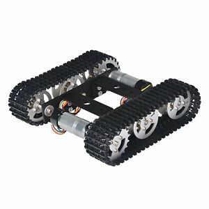 Tracked Robot Smart Car Platform Chassis With Dual Dc 9v Motor For Arduino Diy