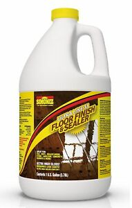 Ultra High Gloss 33 Solids Floor Finish Wax 1 Gallon more Durable Less