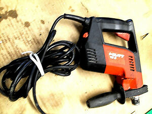 Hilti Te 5 4 6 amp Rotary Hammer Drill Concrete Drill Masonry Tool Corded Used