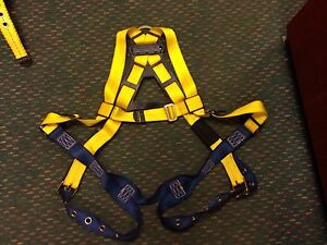 Used Dbi sala varies Delta Vest Style Full Body Safety Harness