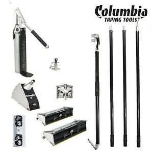 Columbia Taping Tools 10 And 12 Drywall Finishing Set New