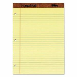 Tops the Legal Pad Ruled Perforated Pads