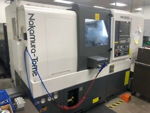 2015 Nakamura Tome As200lmys Cnc Turning Center C Axis Sub Spindle Live Tool
